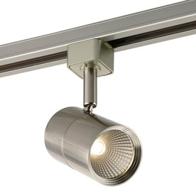 Project Source 1-Light Dimmable Brushed nickel Flat Back Linear Integrated LED Track Lighting Head  sc 1 st  Loweu0027s & Shop Track Lighting Heads at Lowes.com azcodes.com