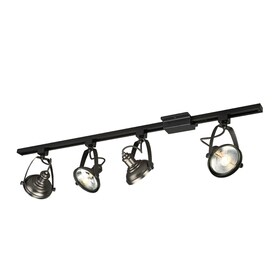 light 42 in antique bronze dimmable gimbal linear track lighting kit. Black Bedroom Furniture Sets. Home Design Ideas