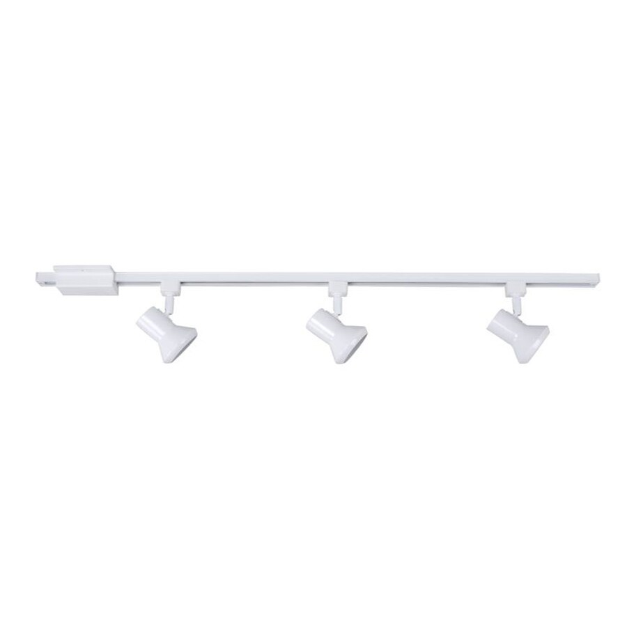 Catalina 3-Light 42-in Matte White Dimmable Step Linear Track Lighting Kit