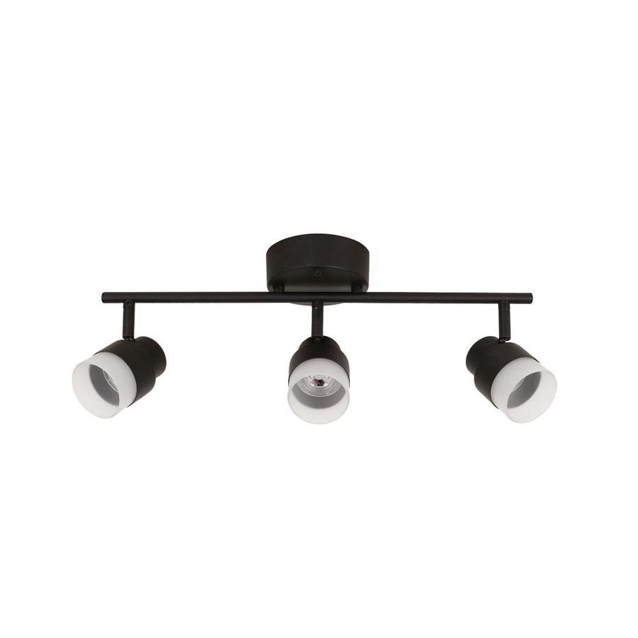 Portfolio Willscott 3-Light 19.5-in Bronze Dimmable LED Track Bar Fixed Track Light Kit
