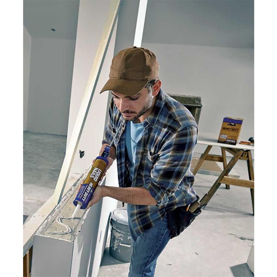 LIQUID NAILS Heavy Duty Off-white Interior/Exterior Multi-purpose Construction Adhesive (Actual Net Contents: 10-fl oz) LN-903
