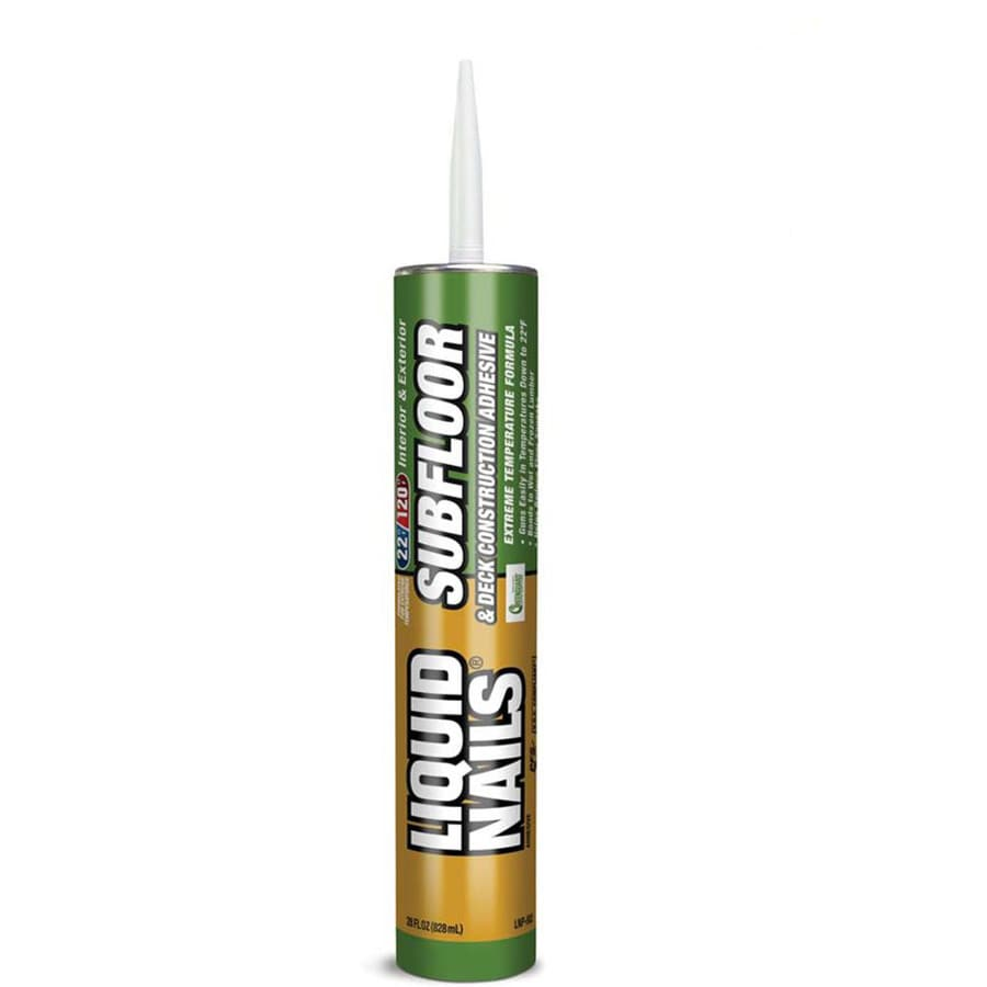 LIQUID NAILS Subfloor and Deck Construction Adhesive