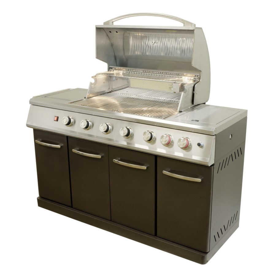 attractive Master Forge Grill Company Part - 18: Master Forge 5-Burner Gas Grill