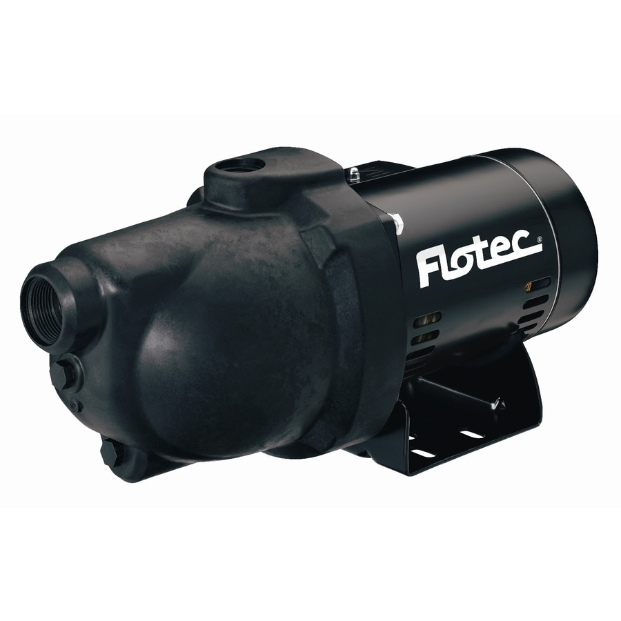 Flotec 0.75-HP Thermoplastic Shallow Well Jet Pump