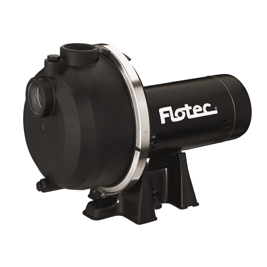 Flotec 1.5-HP Thermoplastic Lawn Pump