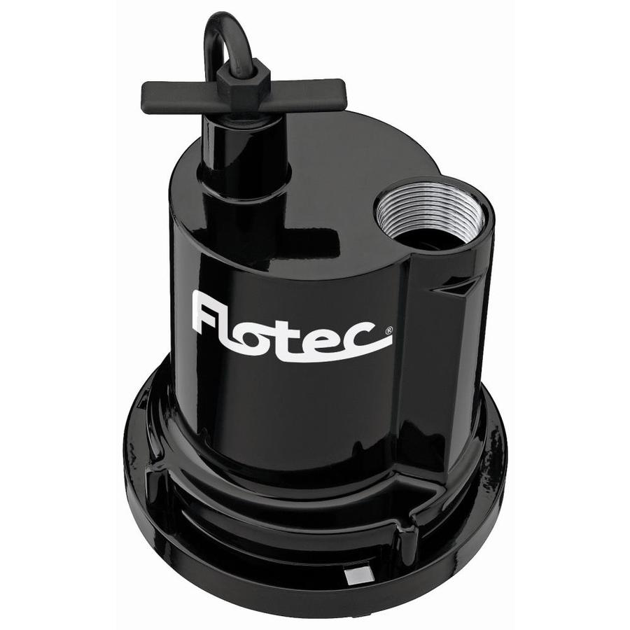 Flotec 0.25-HP Aluminum Submersible Utility Pump