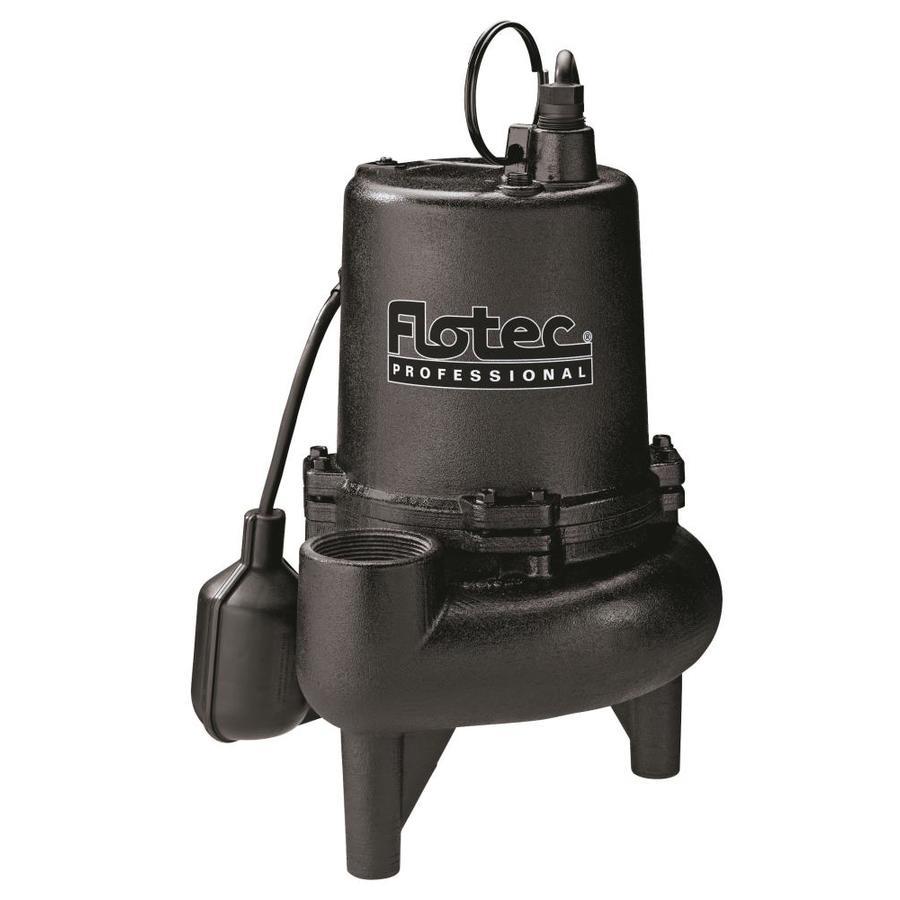 Flotec 0.75-HP Cast Iron Sewage Sump Pump