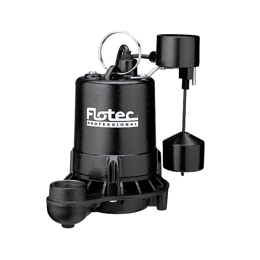Flotec 0.5-HP Cast Iron Submersible Sump Pump
