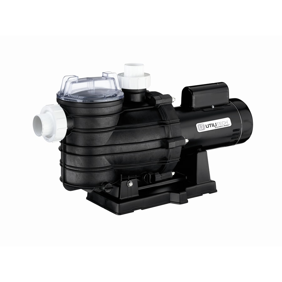 Shop Utilitech 1 Hp Thermoplastic Pool Pump At