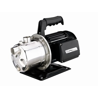 Utilitech 1-HP Stainless Steel Lawn Pump at Lowes com