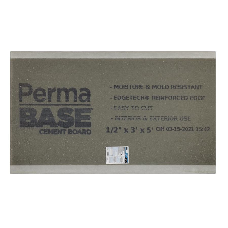 PermaBase 0.5-in x 36-in x 60-in Cement Backer Board