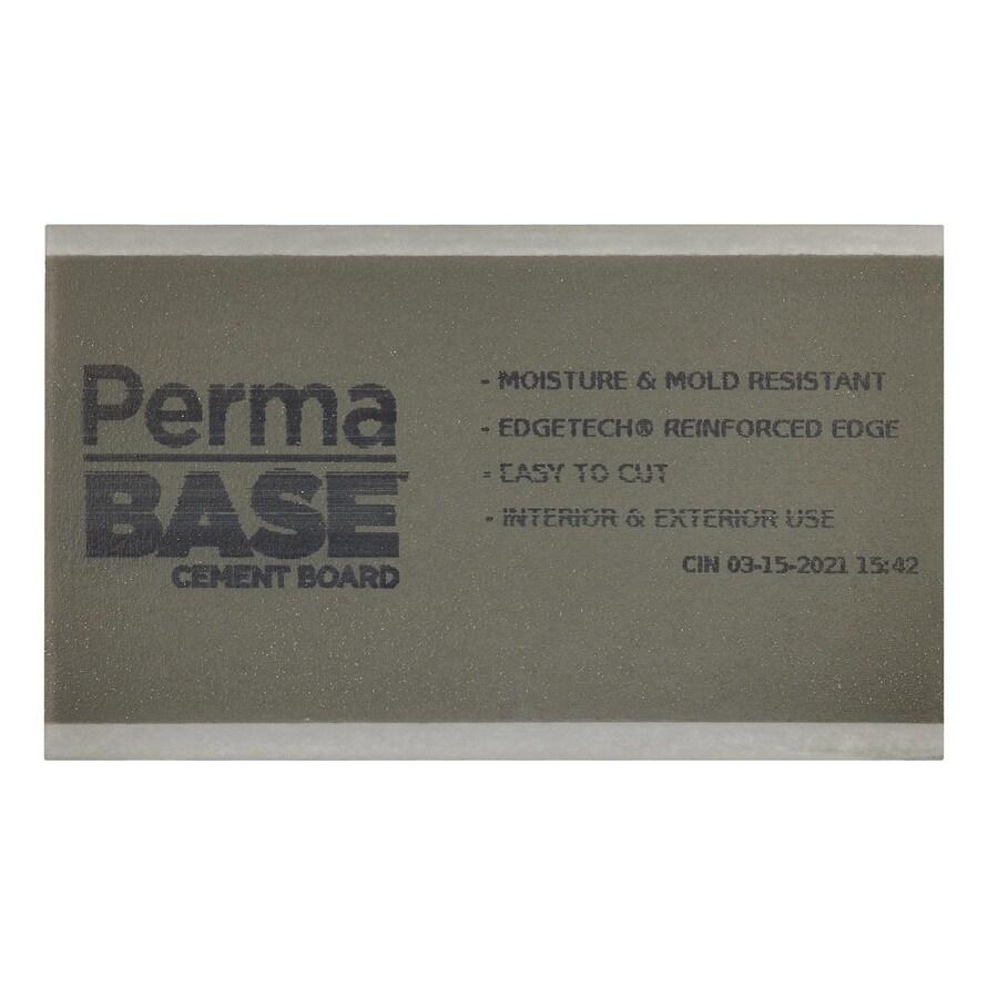 PermaBase 0.625-in x 36-in x 60-in Cement Backer Board