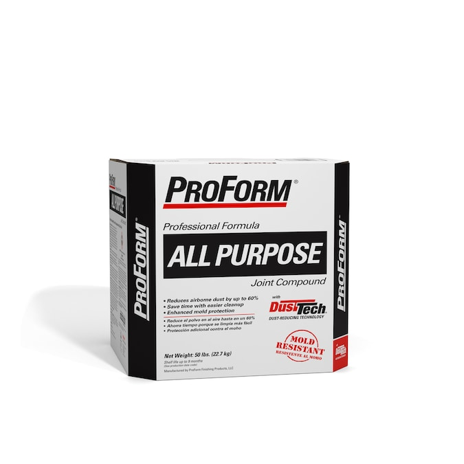 Proform Xp With Dust Tech 50 Lb Premixed All Purpose Drywall Joint Compound At Lowes Com
