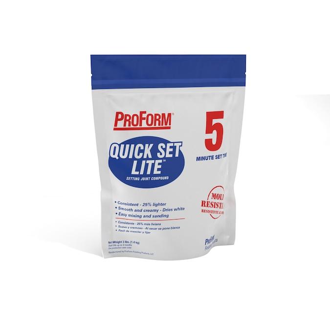 Proform Quick Set Lite 3 Lb Lightweight Drywall Joint Compound In The Drywall Joint Compound Department At Lowes Com