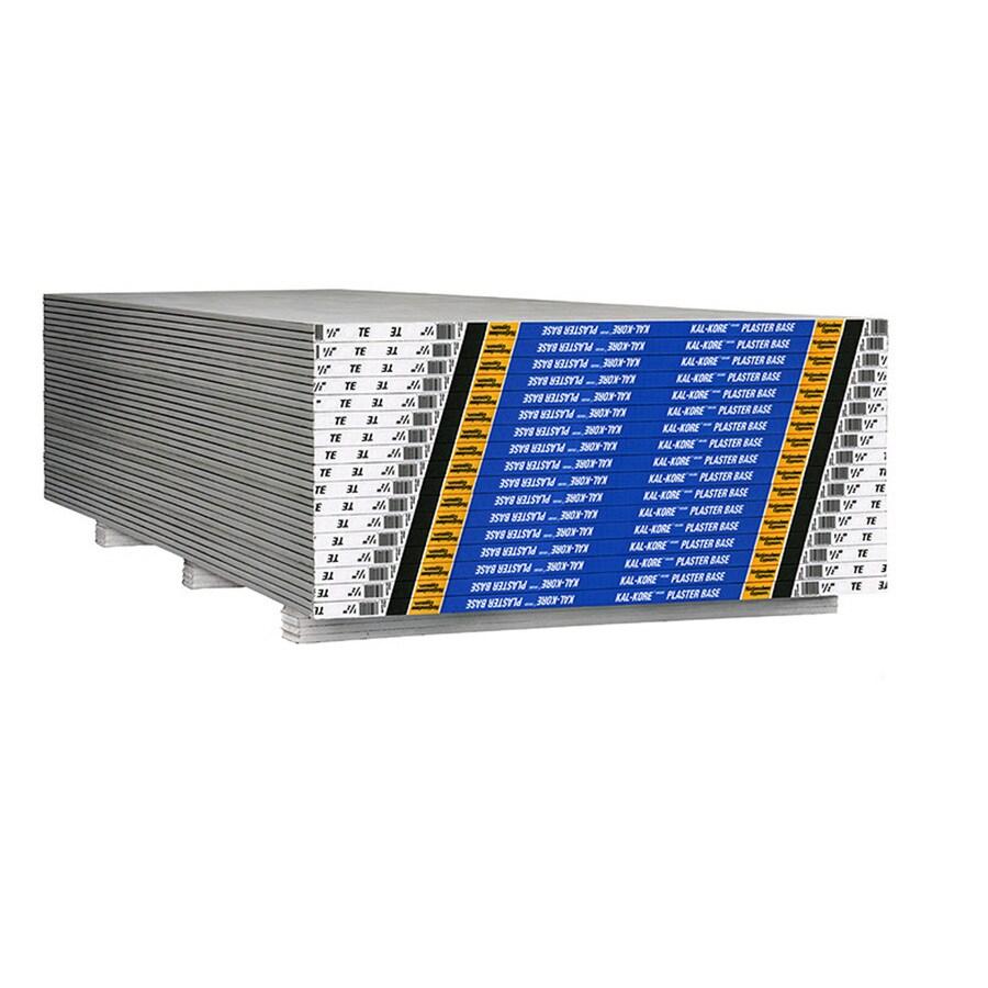 Gold Bond (Common: 1/2-in x 4-ft X 12-ft; Actual: 0.5-in x 4-ft x 12-ft) Kal-Kore Drywall Panel