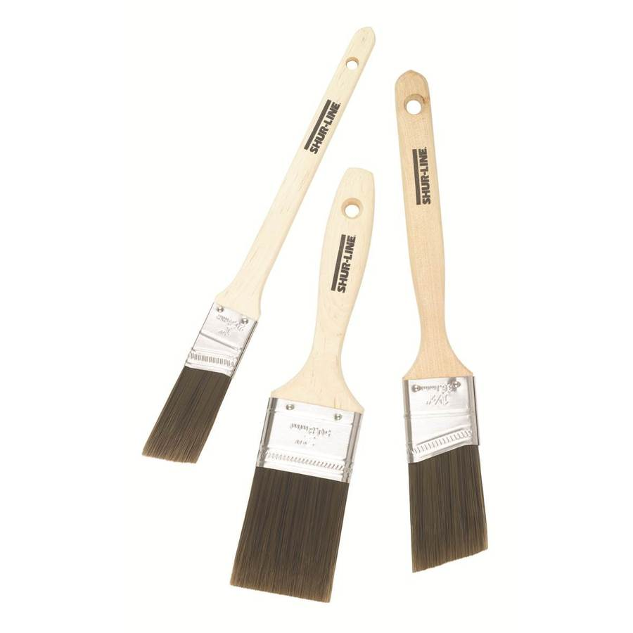 Shur Line 3 Pack Paint Brush