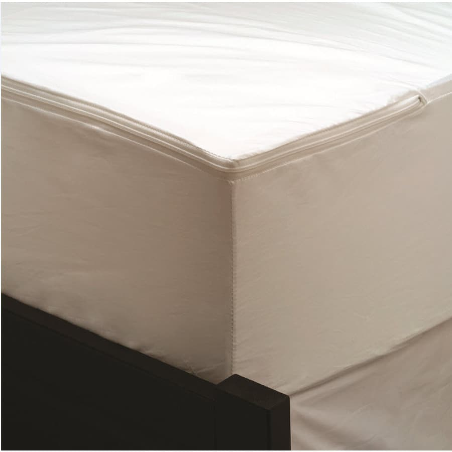 Aller-Ease Polyester King Hypoallergenic Mattress Encasement with Bed Bug Protection
