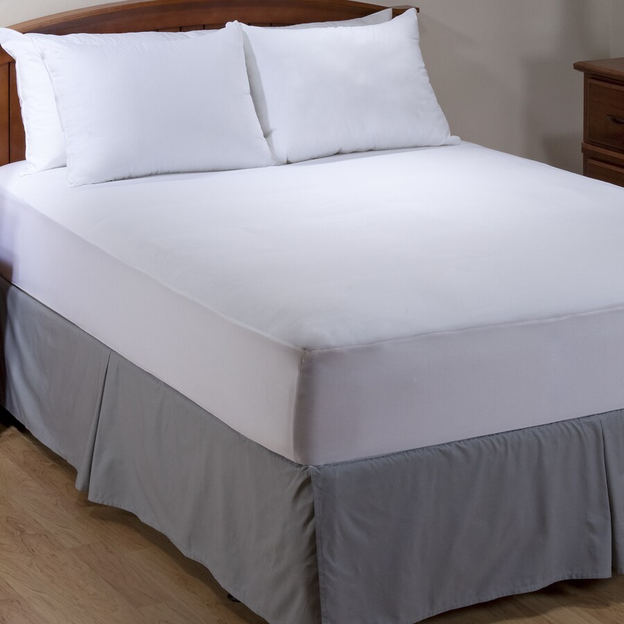 Aller-Ease White King Mattress Cover Set
