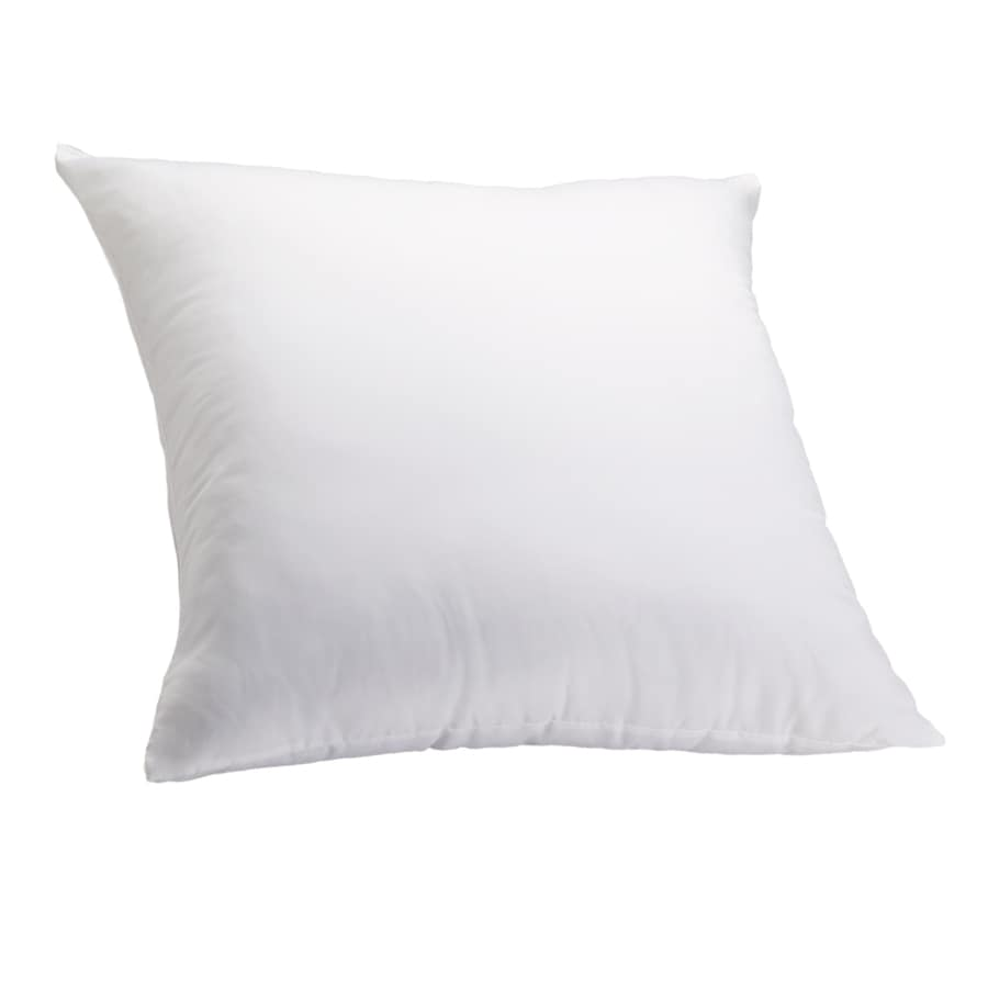 Aller-Ease 26-in W x 26-in L White Square Indoor Decorative Pillow