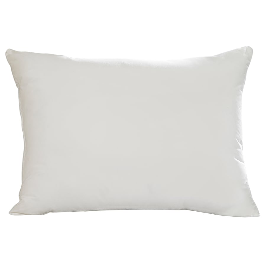 Shop Aller-Ease 20-in W x 36-in L White Rectangular Indoor Decorative Pillow at Lowes.com