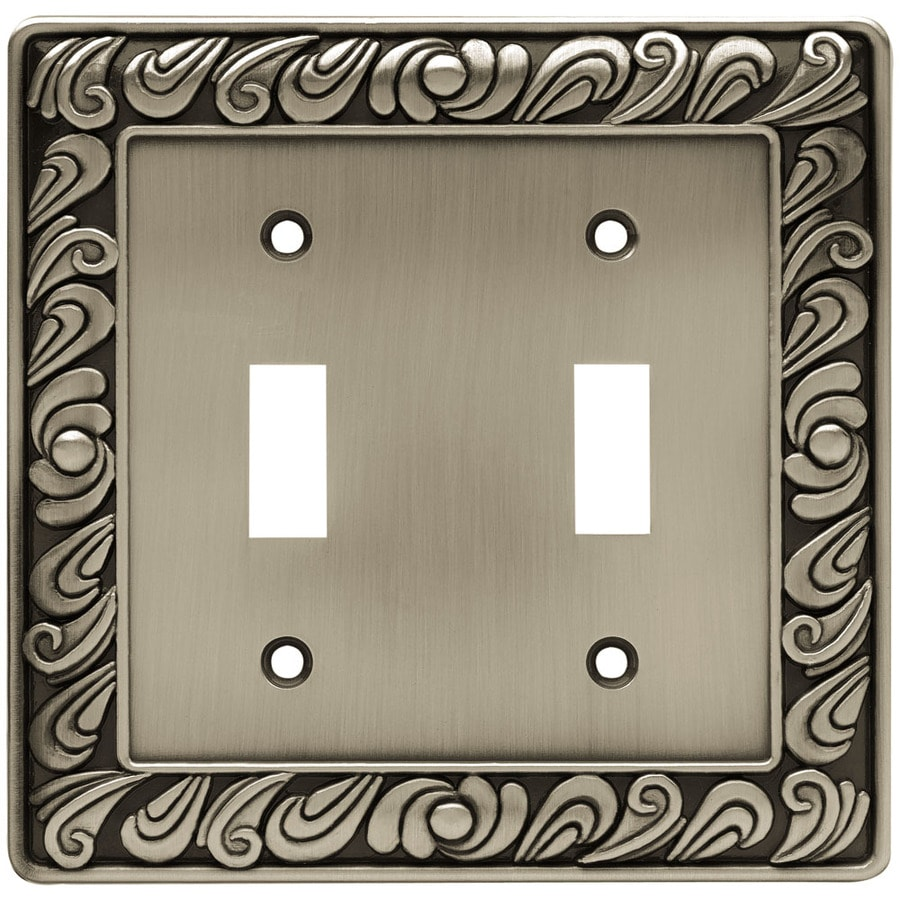 Brainerd 1 2 Brushed Satin Pewter Double Toggle