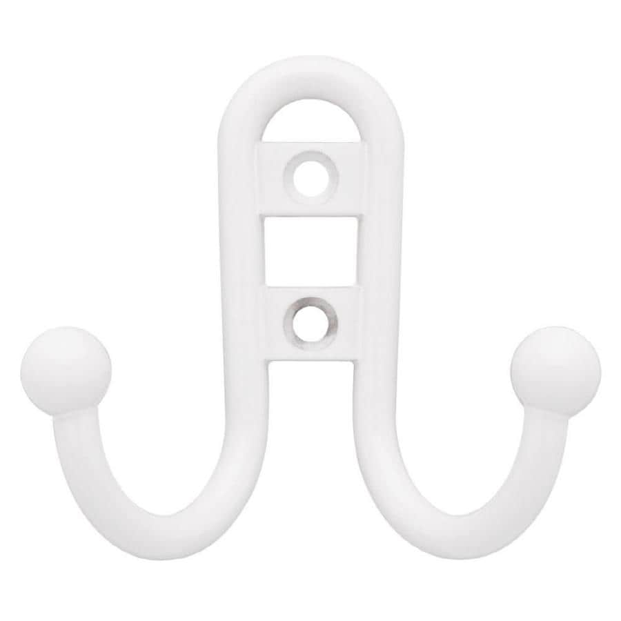 Brainerd White Garment Hook