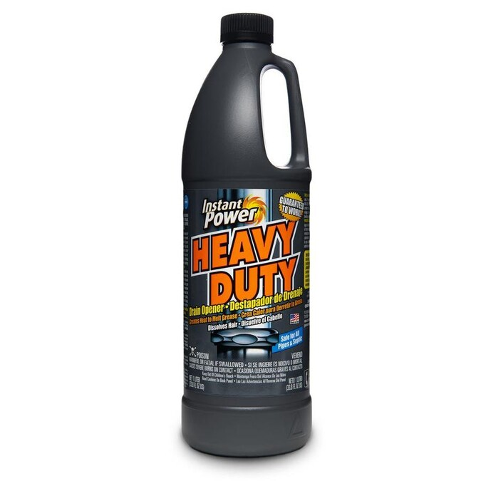 Instant Power 33 8 Fl Oz Drain Cleaner In The Drain Cleaners Department At Lowes Com