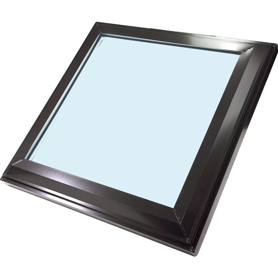 Sun-Tek Fixed Tempered Skylight (Fits Rough Opening: 22.5-in x 22.5-in; Actual: 26.625-in x 26.625-in)