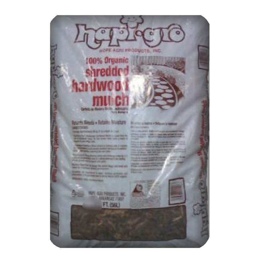 Hapi-Gro 3 cu ft All-Natural Shredded Hardwood Mulch