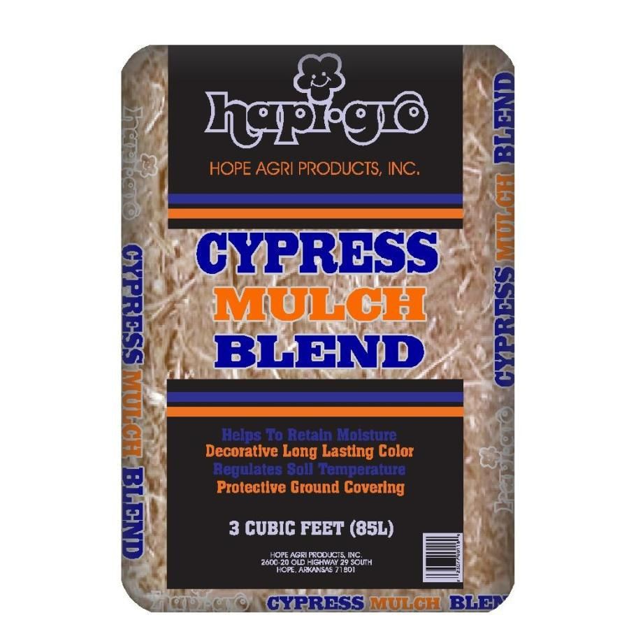 Hapi-Gro 3 cu ft All-Natural Cypress Blend Mulch