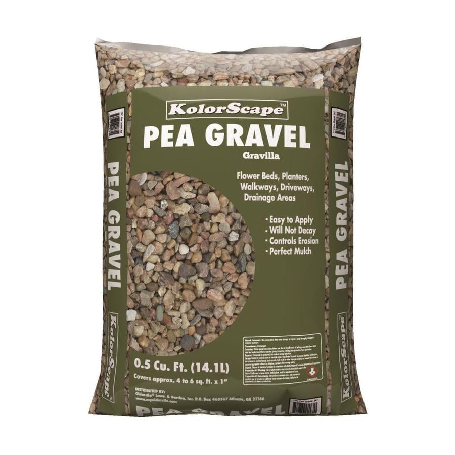 Rock City 0 5 Cu Ft Brown Pea Gravel