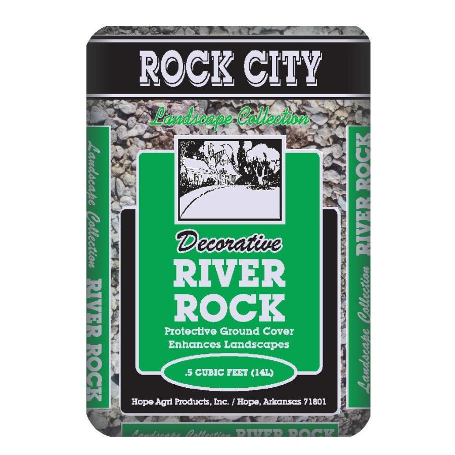 Rock City 0.5-cu ft River Rock