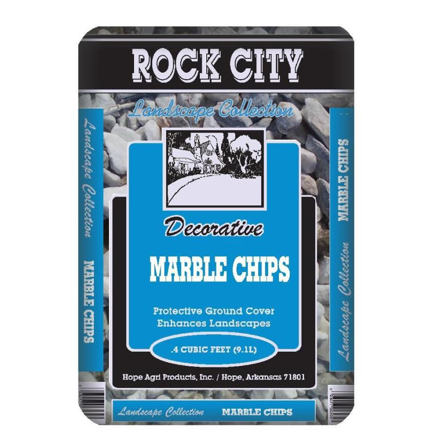 Rock City 0.4-cu ft Marble
