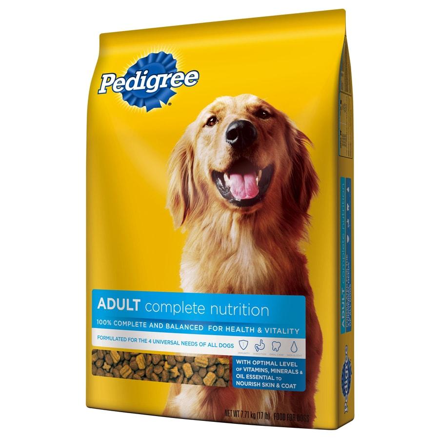 Pedigree 17 Lbs Adult Dog Food At Lowescom