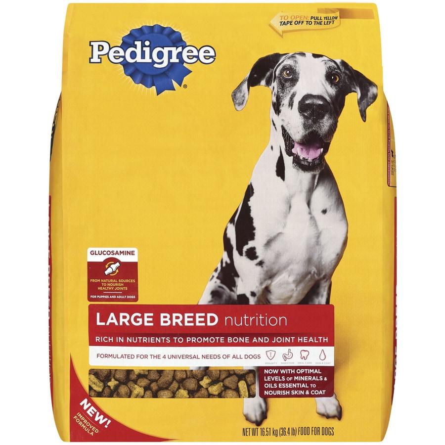 Pedigree 36.4-lbs Large Breed Adult Dog Food