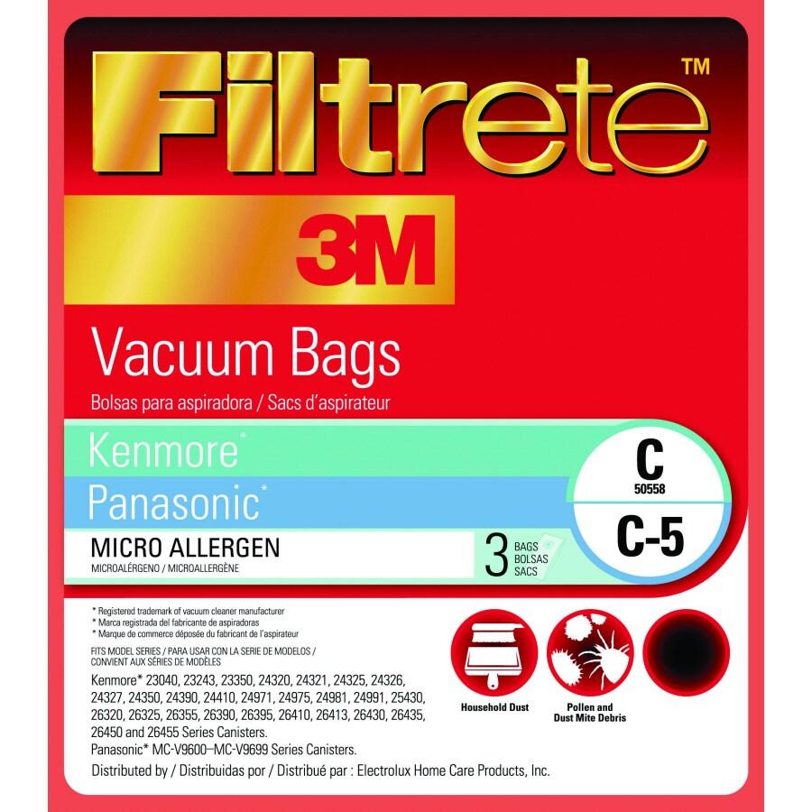 3M 3-Pack Disposable Paper Vacuum Bag