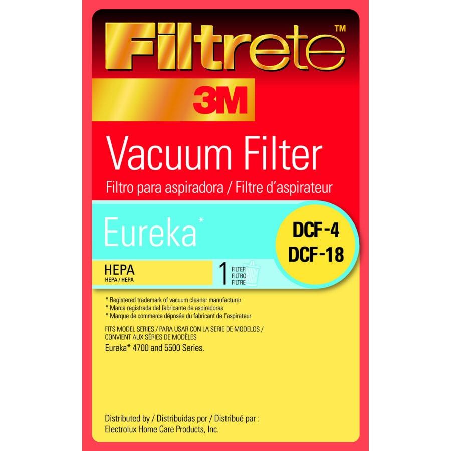 3M HEPA Vacuum Filter for Upright Vacuums