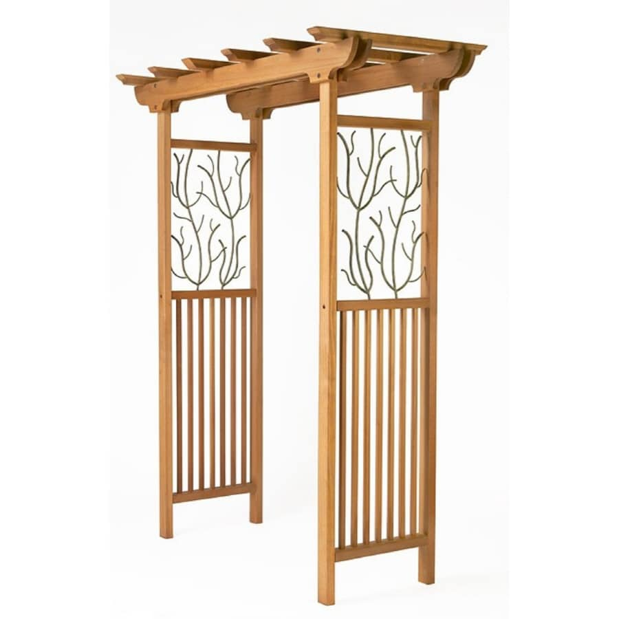 Willows Wood and Metal Arbor