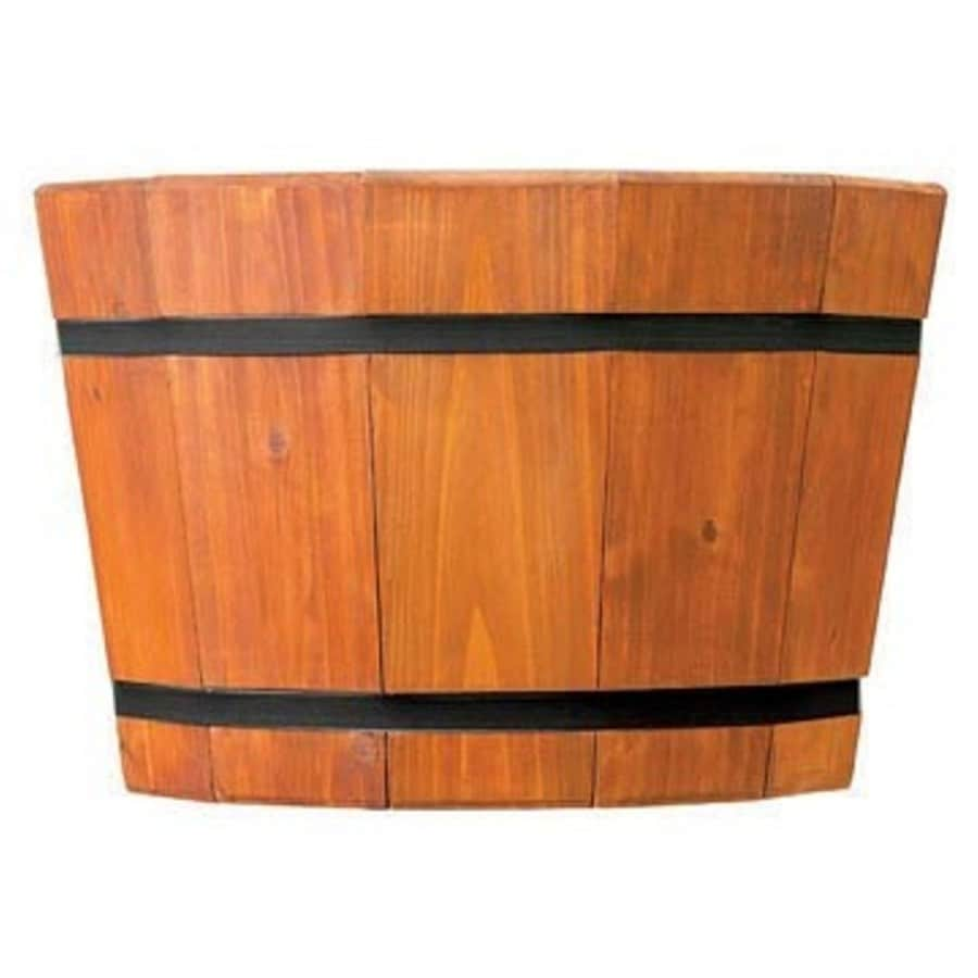 "Matthews Four Seasons 17"" Shallow Heartwood Barrel Tub"
