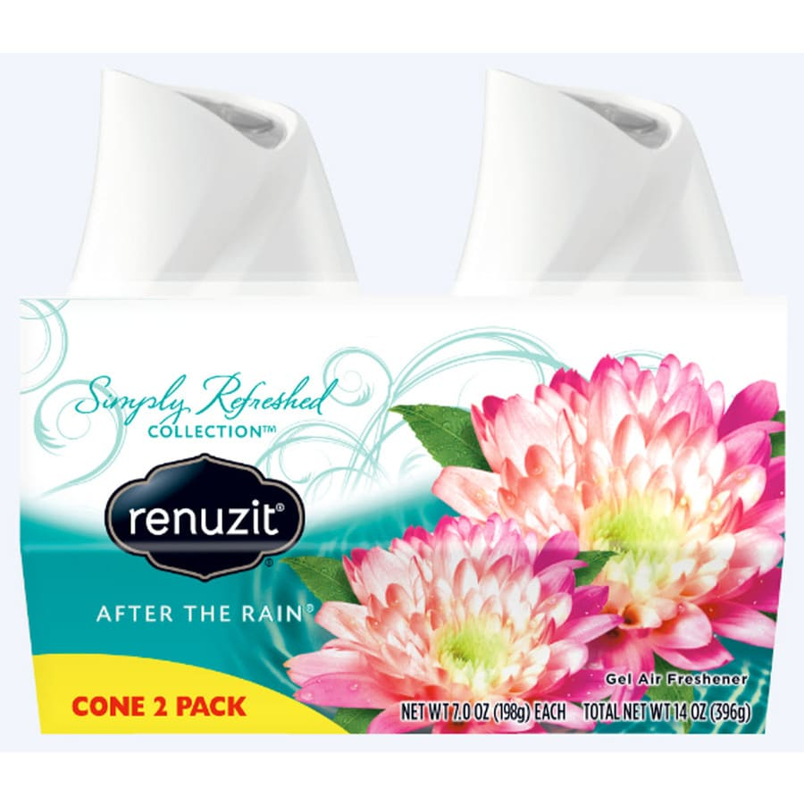 Renuzit AIR 2-Pack 7-oz After the Rain Solid Air Freshener