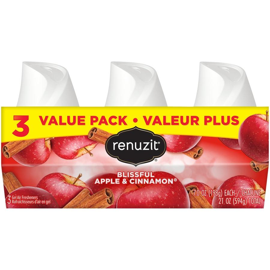 Renuzit AIR 3-Pack Apple Cinnamon Gel Air Freshener