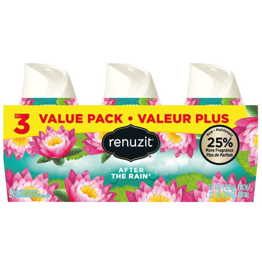 Renuzit AIR 3-Pack After the Rain Gel Air Freshener
