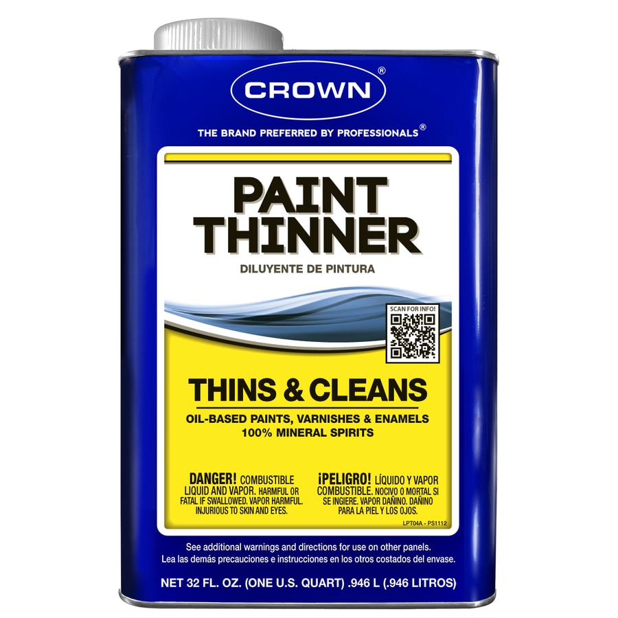Crown 32-fl oz Slow to Dissolve Paint Thinner