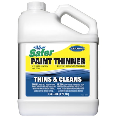 Crown 128-fl oz Slow to Dissolve Paint Thinner at Lowes com
