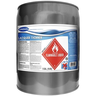 Crown 640-fl oz Fast to Dissolve Lacquer Thinner at Lowes com