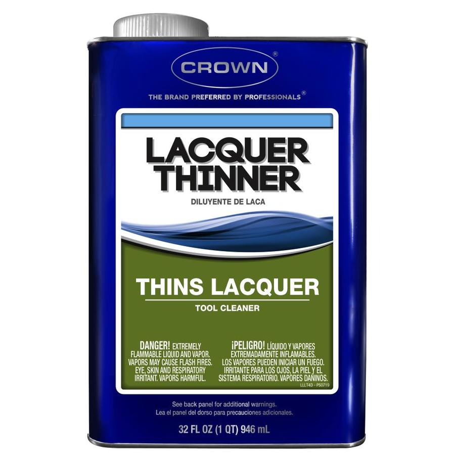 Crown 32-fl oz Fast to Dissolve Lacquer Thinner