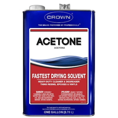 Crown 128-fl oz Fast to Dissolve Acetone at Lowes com