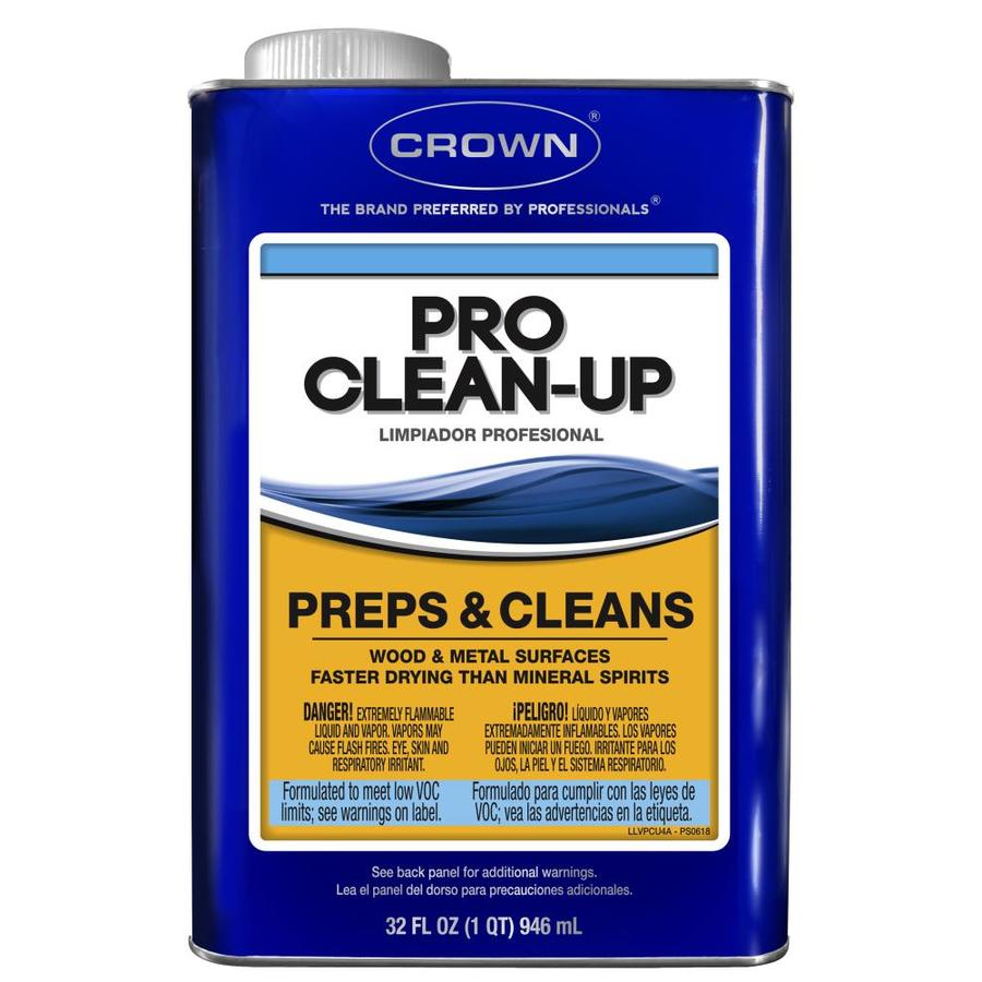 Crown Qt Pro Clean-Up Low Voc