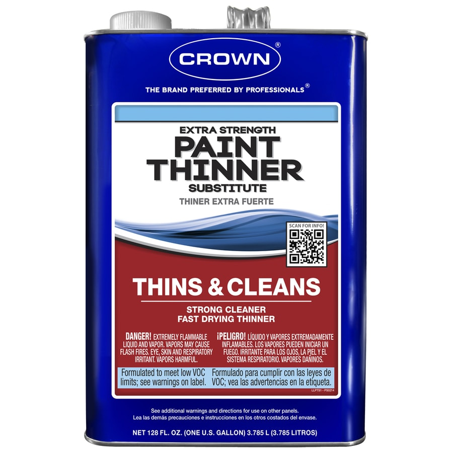 Crown 128-fl oz Fast to Dissolve Paint Thinner