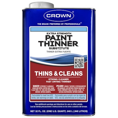 Crown 32-fl oz Fast to Dissolve Paint Thinner at Lowes com